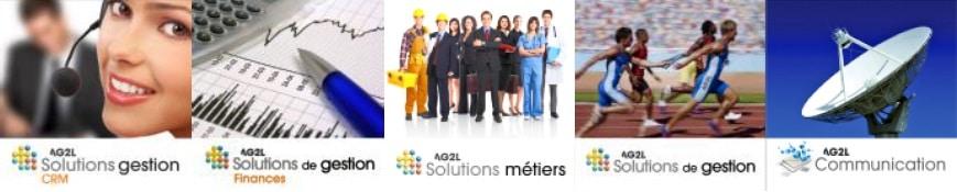 5 vignettes représentatives des solutions d'AG2L