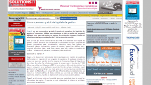article solutions numériques celge comparateur logiciels
