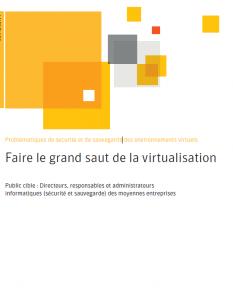 livre blanc securite et virtualisation
