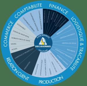 shcema relation client production finance