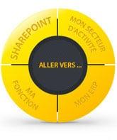 jaune schema itesoft sharepoint erp fonction secteur activité
