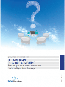 Cloud computing, nuage