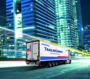 De plus en plus de camions frigorifiques sont équipés de la solution trailer connect de cargobull