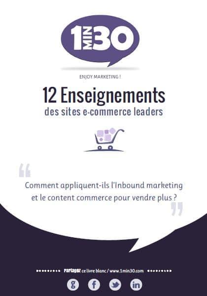 12 enseignements des sites e-commerce leaders