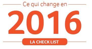 Livre Blanc : Les évolutions réglementaires de 2016