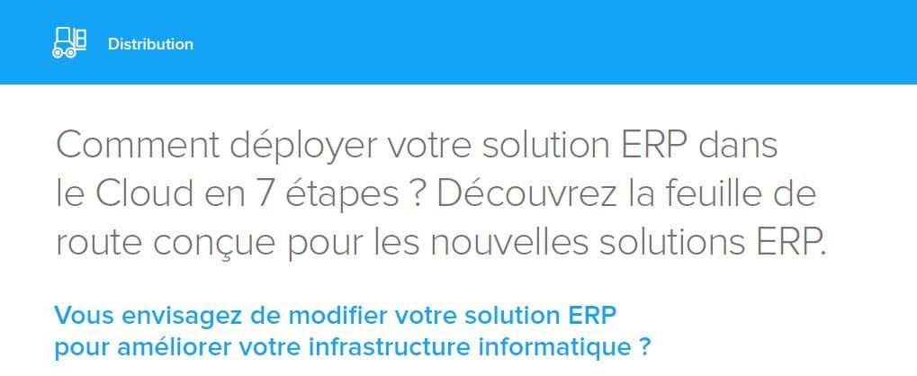 Comment déployer votre solution ERP dans le Cloud en 7 étapes ? Découvrez la feuille de route conçue pour les nouvelles solutions ERP