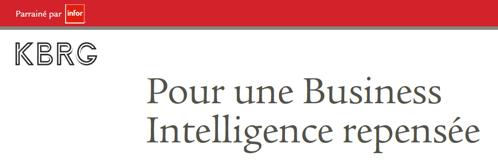 pour une business intelligence repensée