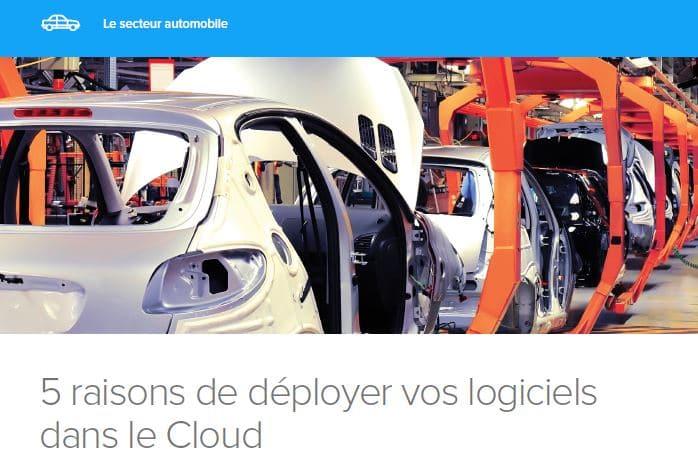 5 raisons de déployer vos logiciels dans le Cloud