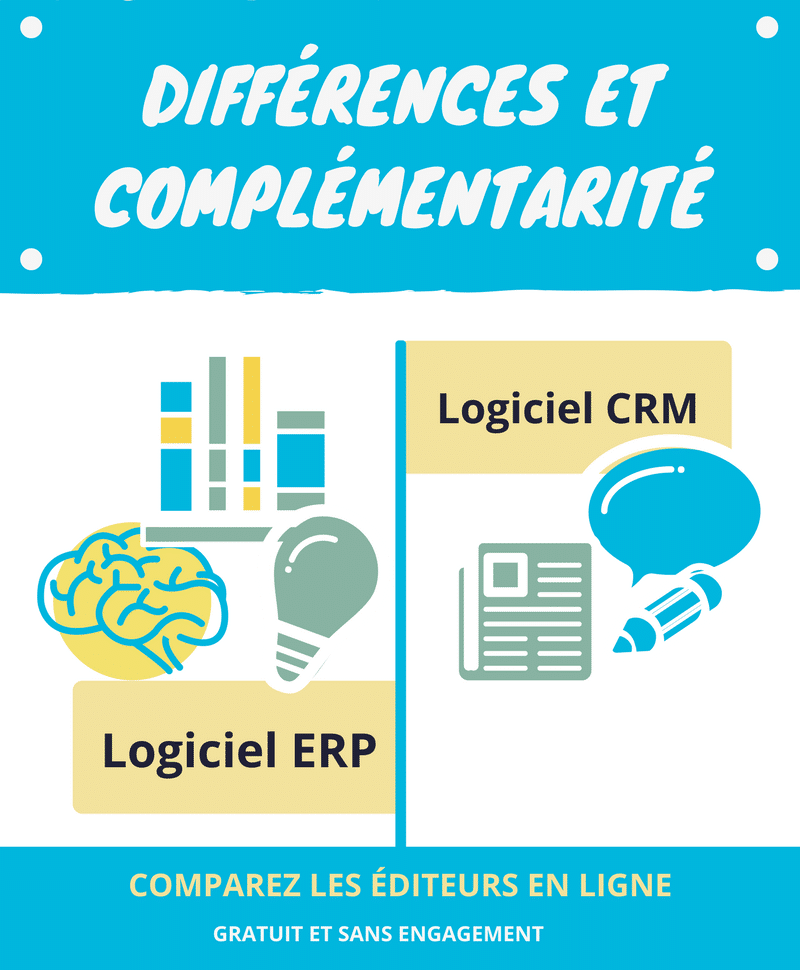 difference crm erp