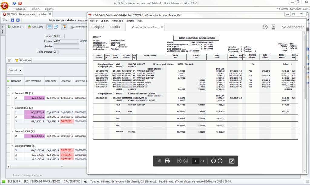 logiciel comptable eureka erp