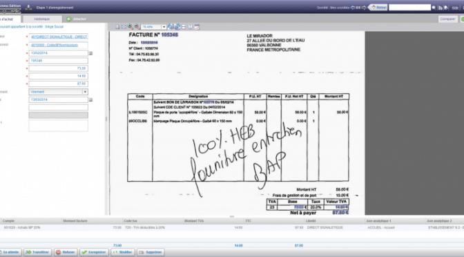 dématérialiser facture signature