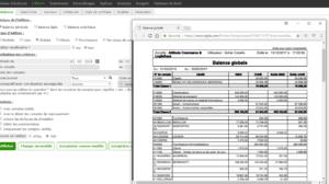 logiciel comptabilité balance