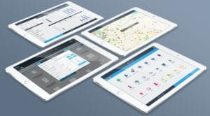 crm divalto 4 tablettes iPad