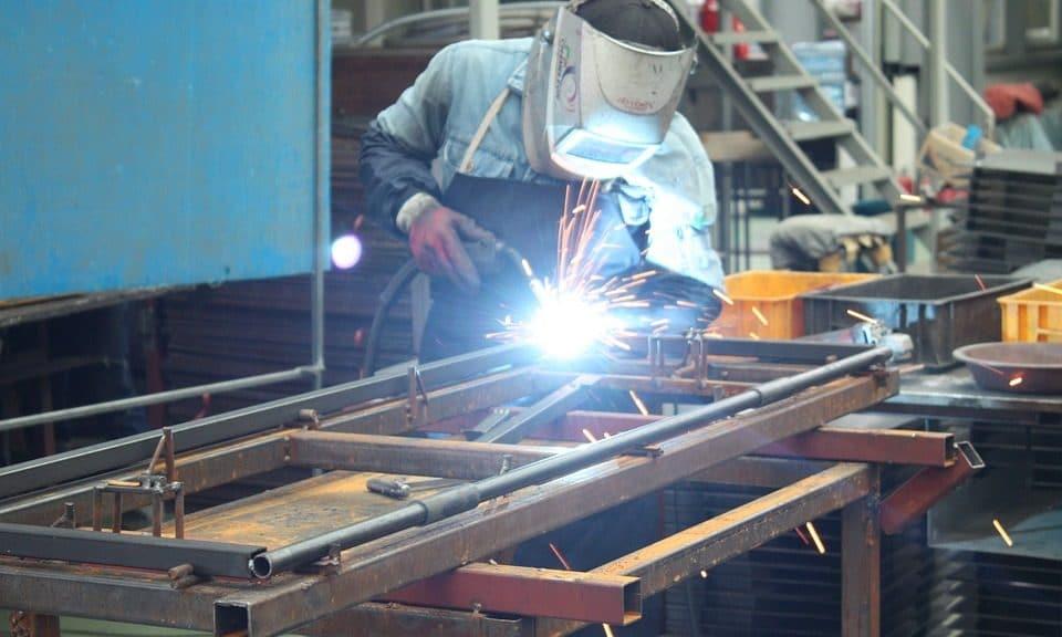 usine de production acier