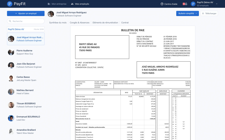 logiciel paie payfit