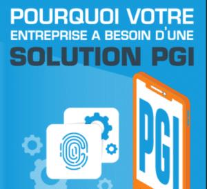 infographie PGI logiciel