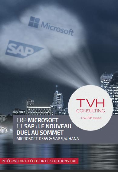 ERP, gestion d'activité, SAP, Microsoft, TVH, Intégrateur