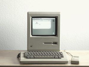 appareil mac très ancien disquette