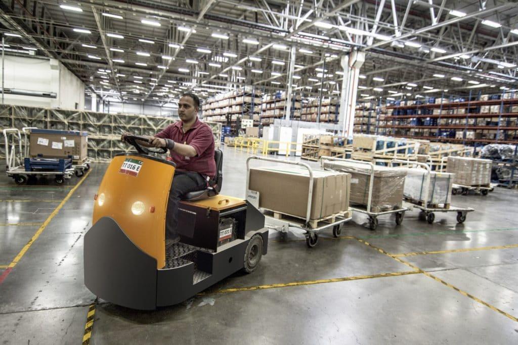 logistique stocks usine de production