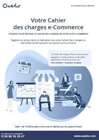 oxatis cahier des charges ecommerce