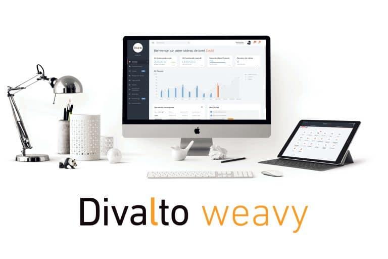 logiciel gestion interventions Divaltoweavy