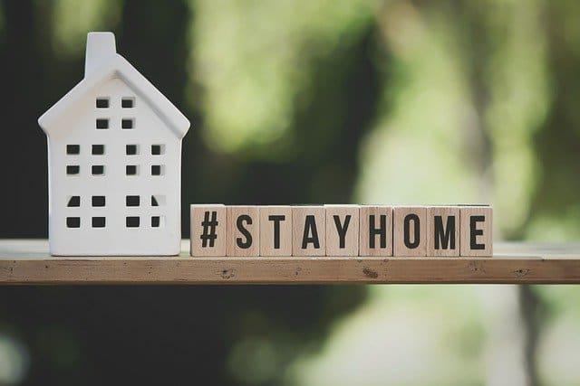 stay home télétravail