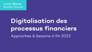 Talentia livre blanc digitalisation processus financiers