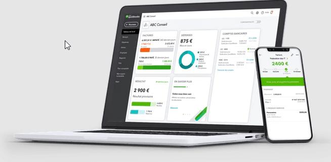 logiciel quickbooks comptabilité