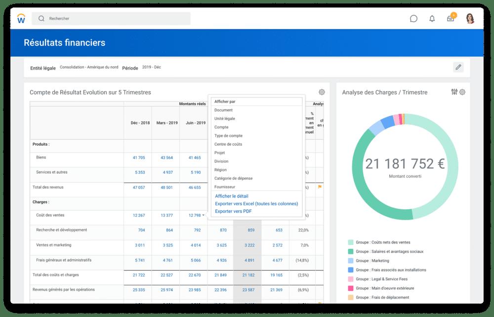 logiciel workday comptabilité