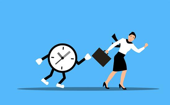 management opérationnel temps femme