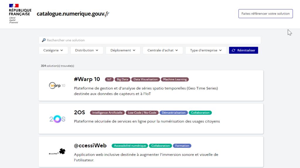 Catalogue logiciels pour le service public GouvTech.png