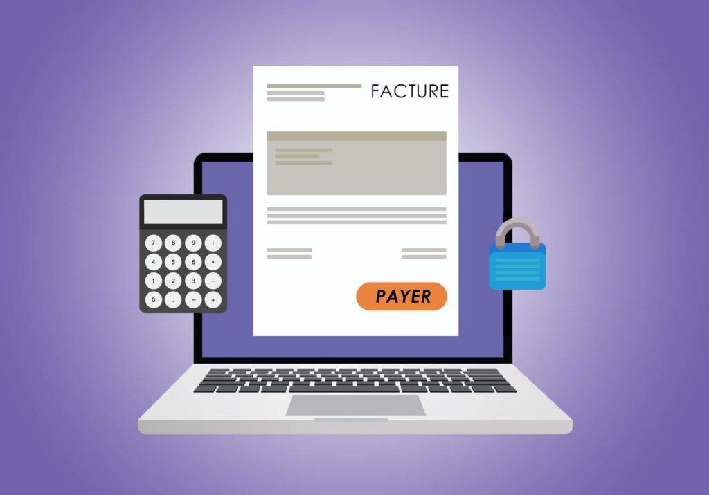 numérisation factures clients et reçus salaire image