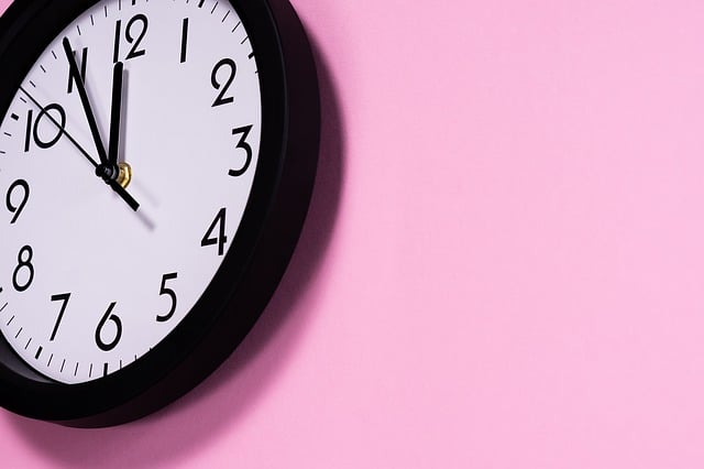rh horloge temps montre