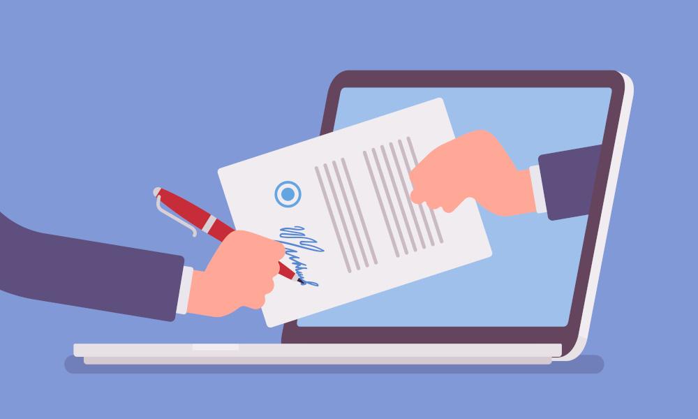 DocuWare signatures électroniques image